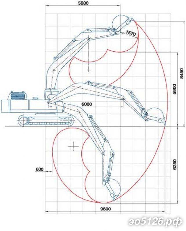 экскаватора ЭО-5126
